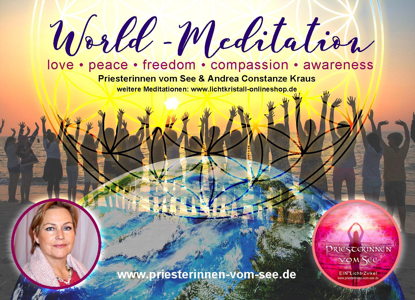 WORLD-Meditation Neue Zeitlinie